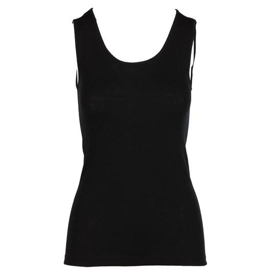 Baselayer Pure Wool Rib Vest