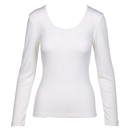 Baselayer Pure Wool Rib Long Sleeve