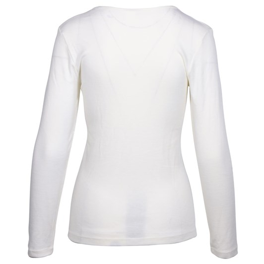 Baselayer Pure Wool Long Sleeve Lace Motif