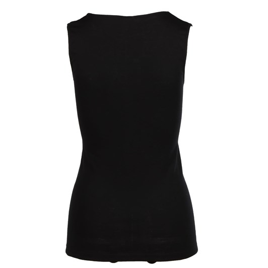 Baselayer Pure Wool Vest Lace Motif