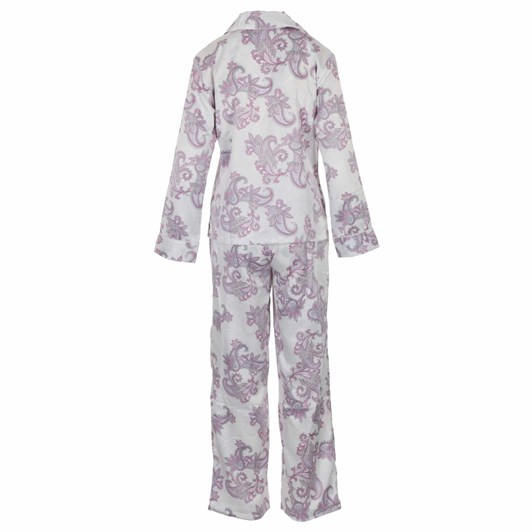Lauren Ralph Lauren  Satin L/S Notch Collar Pajama