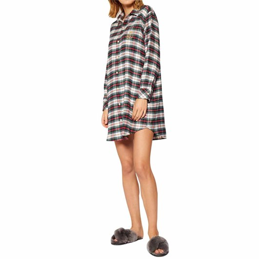 Lauren Ralph Lauren  Brushed Twill L/S His Shirt Sleepshirt