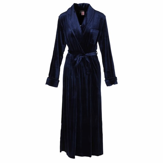 Lauren Ralph Lauren  Velvet Long Shawl Collar Robe