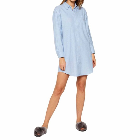 Lauren Ralph Lauren  Sateen His Shirt Sleepshirt