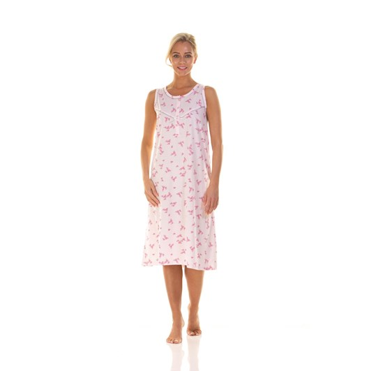 La Marquise Pink Blossom Short Sleeve Nightdress