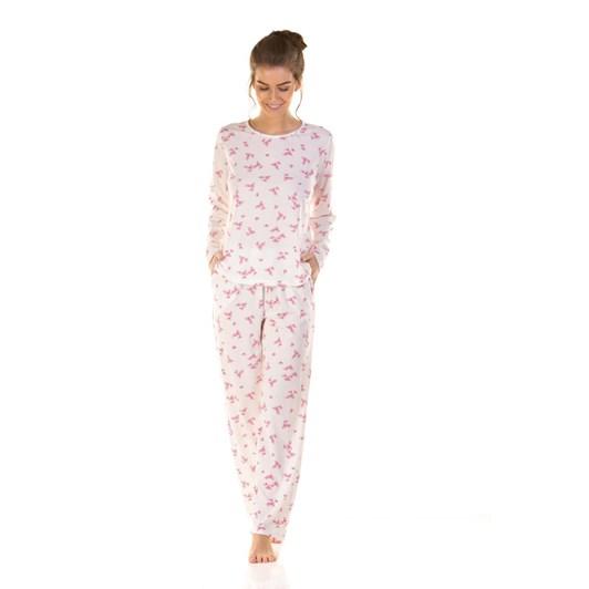 La Marquise Pink Blossom Long Sleeve Pyjama