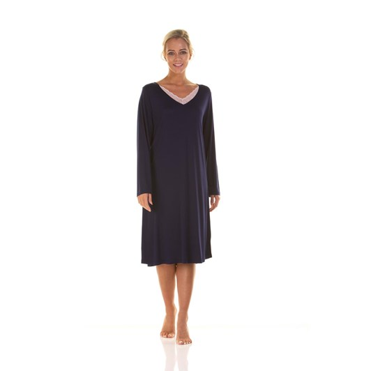 La Marquise Japanese Garden Long Sleeve Nightdress