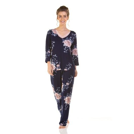 La Marquise Japanese Garden 3/4 Sleeve Pyjama
