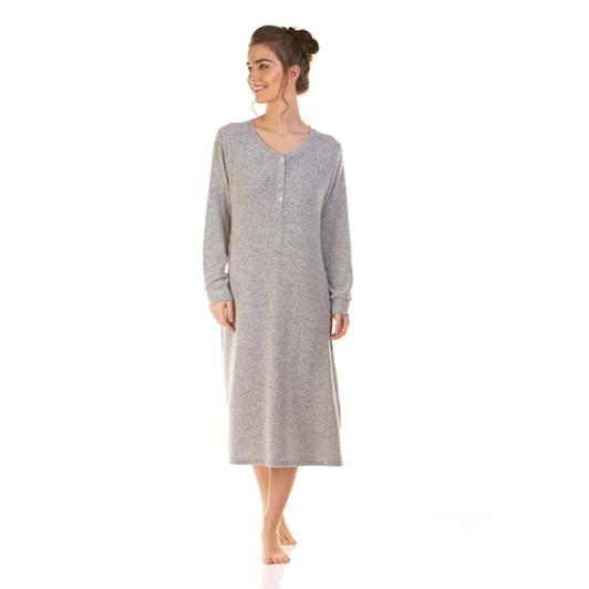 La Marquise Lush Lounge Long Sleeve Nightdress