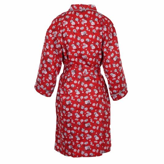 Cottonreal Deluxe Supersateen L/Slv Kimono Wrapovers