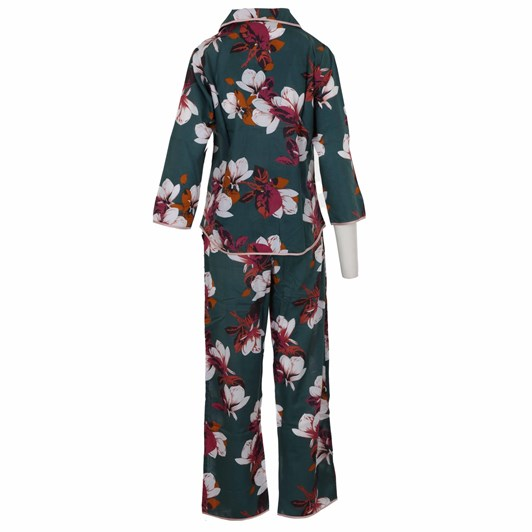 Cottonreal Superlawn Grand Protea Flora L/Slv Revere Pj Sets