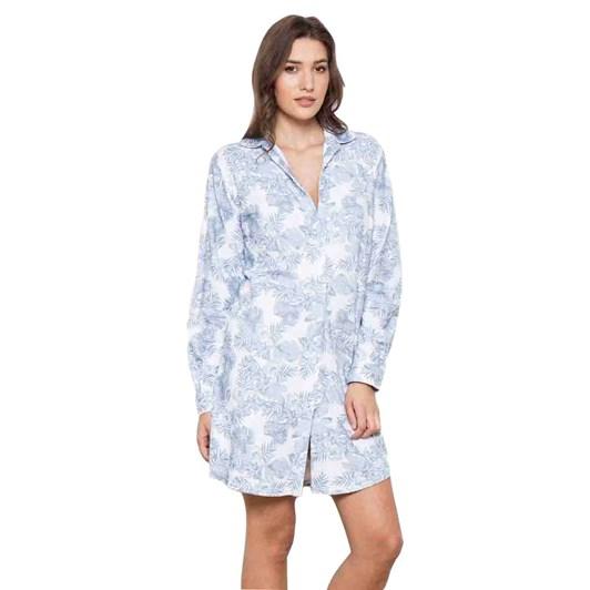 Cottonreal Pebblepalms L/Slv Clubcollar Bf N/Shirts