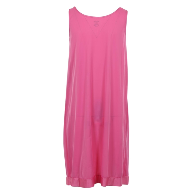 Exquisite Sleeveless Short Nighty - perfumed rose