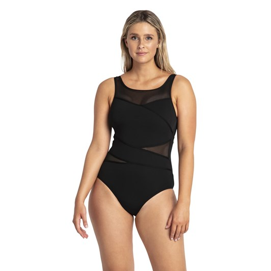 Poolproof Taped High Neck 1Pc