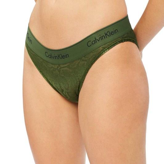 Calvin Klein Modern Cotton Snakeskin Burnout Bikini