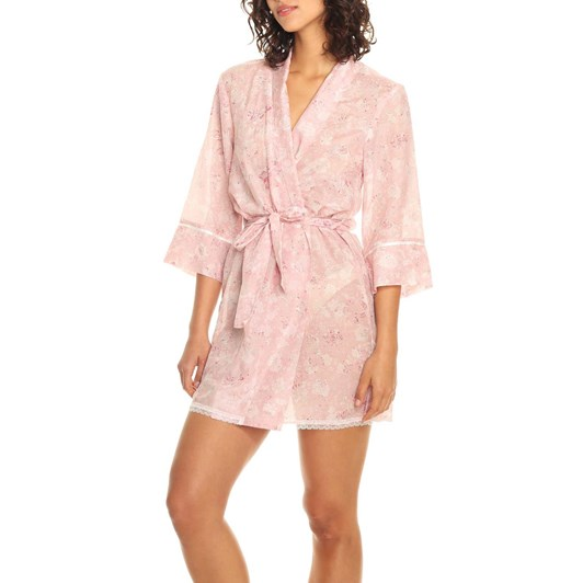 Papinelle Louis Pink Short Robe