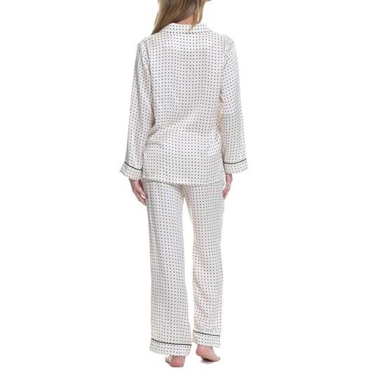 Papinelle Pure Silk Piped Pyjamas