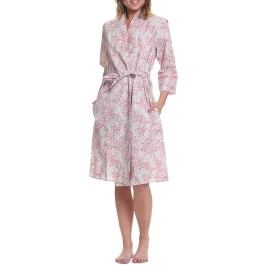 Papinelle Pixie Floral Mid-Length Robe