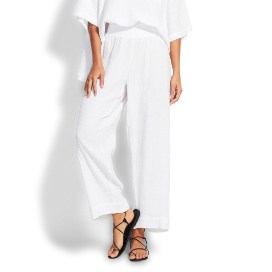Seafolly Double Cloth Shirring Pant