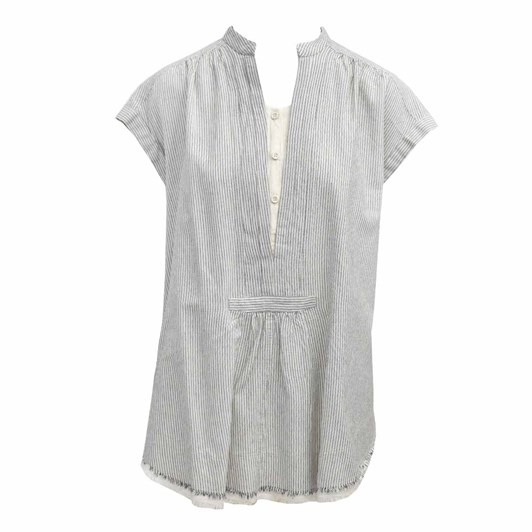 Devotion Roma Blouse With Stripes