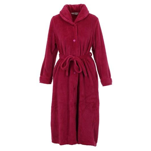 Givoni Button Front Polar Fleece Gown