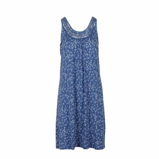 Yuu Sleeveless Blues Dress
