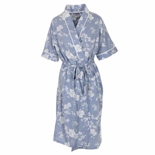 La Marquise Heather Floral Wrap Robe