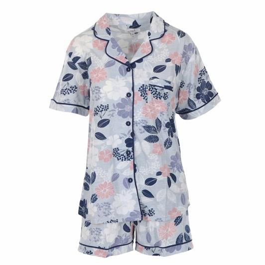 La Marquise Scattered Floral BT PJ Shorts Set