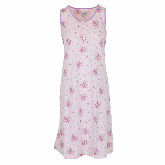 La Marquise Summer Bouquet Short Sleeve Nightdress