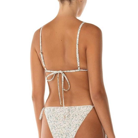 Peony String Tri Bikini Top