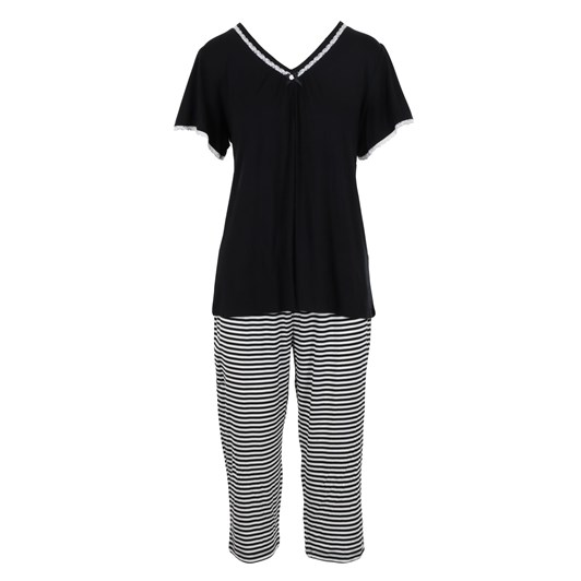 Yuu Stripe Set (Plain Top)