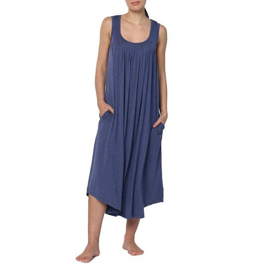 Papinelle Modal Soft Pleat Front Maxi Nightie