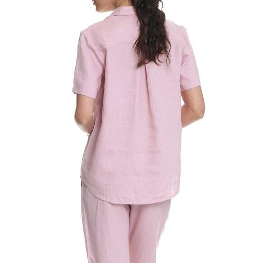 Papinelle Resort Linen Ss Shirt