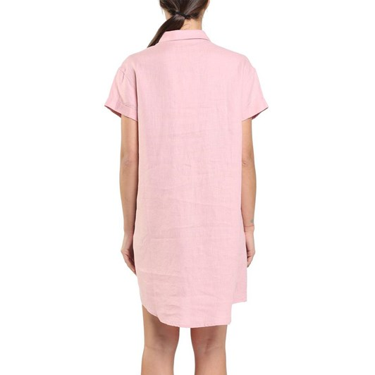 Papinelle Resort Linen Pocket Nightshirt