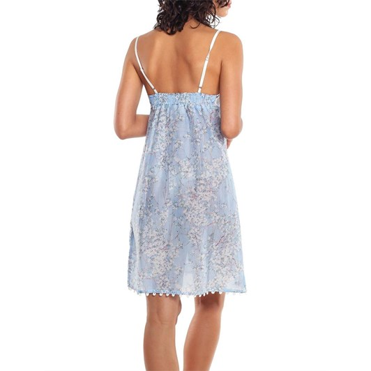 Papinelle Cherry Blossom Lace Front Nightie