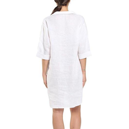 Papinelle Resort Linen Boyfriend Shirt