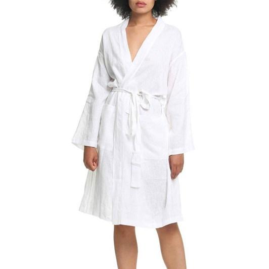 Papinelle Resort Linen Robe