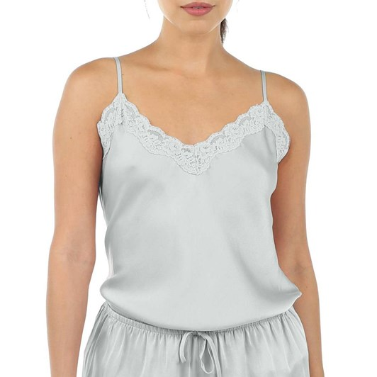 Papinelle Pure Silk Lace Cami And Boxer