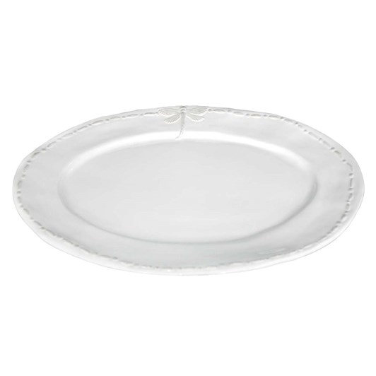 French Country Dragonfly Large Ceramic Oval Platter