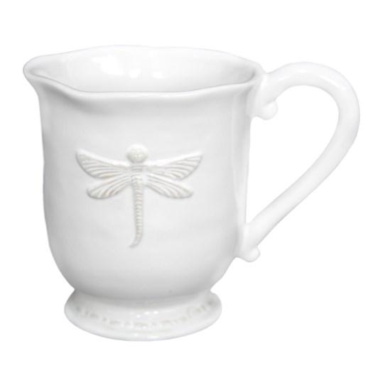 French Country Dragonfly Ceramic Coffee Mug