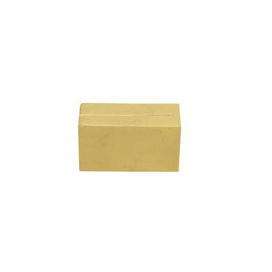 French Country Brass Card Holder Rectangle
