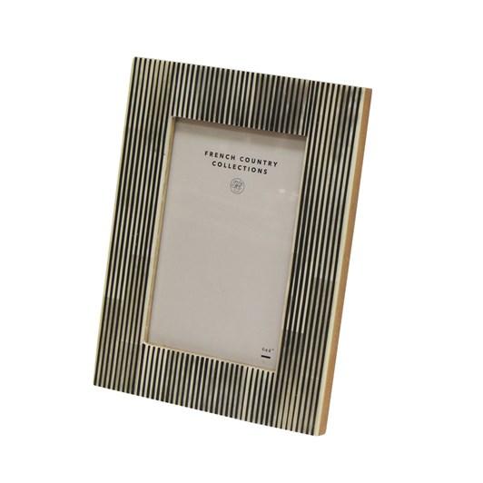 "French Country Sahar Narrow Stripe  Photo Frame 4x6"""