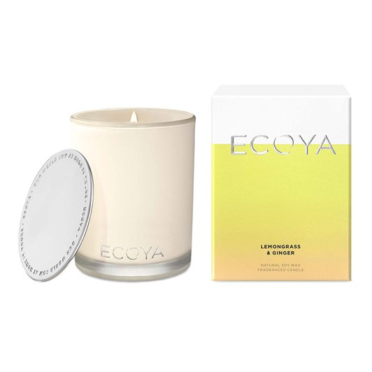 Ecoya Madison Jar - Lemongrass Ginger