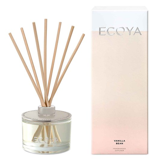 Ecoya Reed Diffuser 200ml - Vanilla Bean
