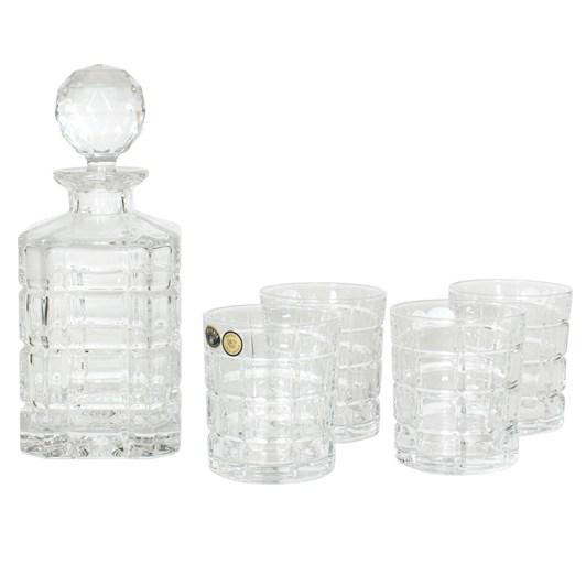 Bohemia Ice Whisky Set 5 Piece