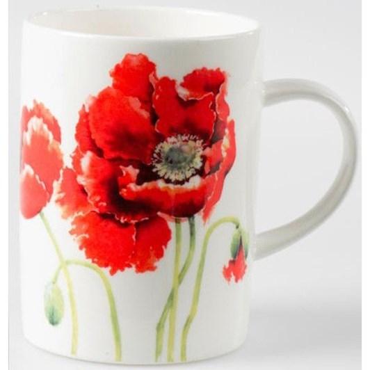 Roy Kirkham Garden Poppy Mug