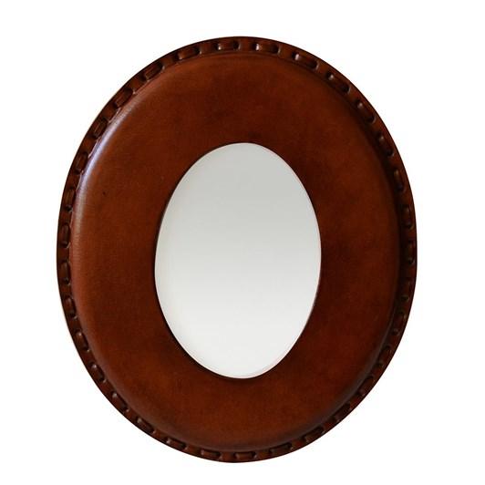 CC Interiors Leather Oval Photo Frame 4x6