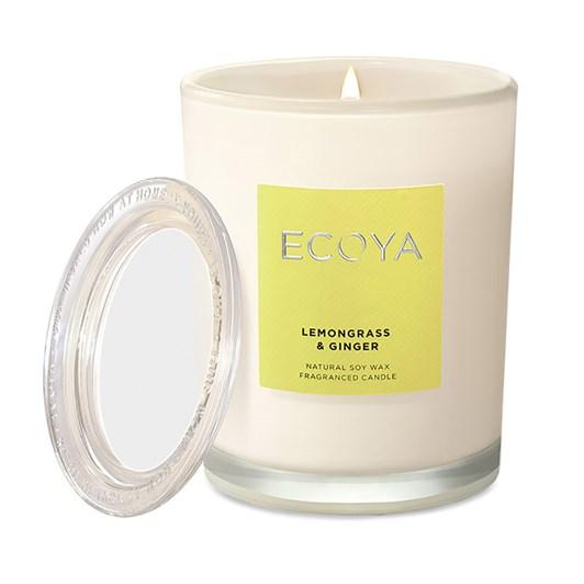 Ecoya New Look Metro Jar - Lemongrass & Ginger