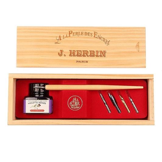 "J. Herbin Calligraphy Box Set ""La Perle des Encres"""