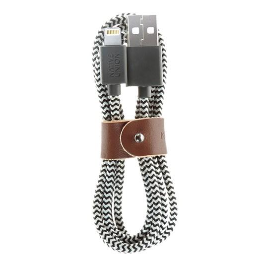 Native Union Belt Cable KV Lightning Zebra 1.2m